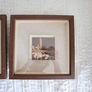 Vintage Wall Art - A set of 3 Boho framed wall art